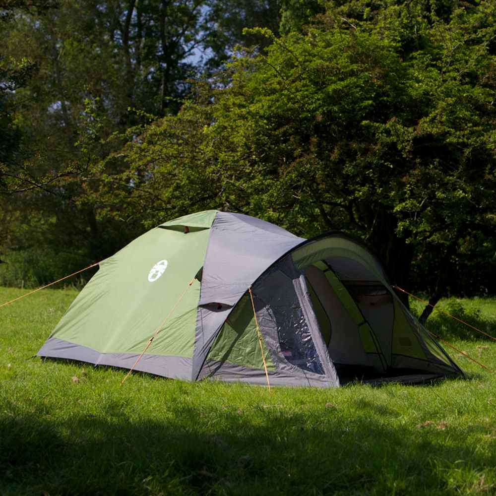 coleman 2 person tent instructions
