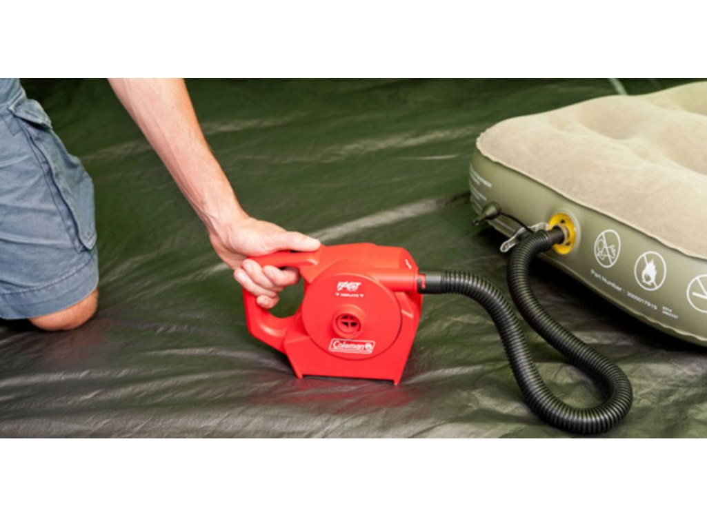 coleman rechargeable quickpump instructions