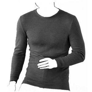 Mens Thermal Long Sleeve Vest