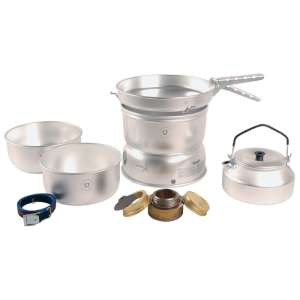 Image of Trangia 25-2 Stove Alloy Pans with Kettle