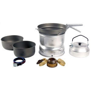Product image of Trangia 25-8 Stove Hard Anodised Pans with Kettle