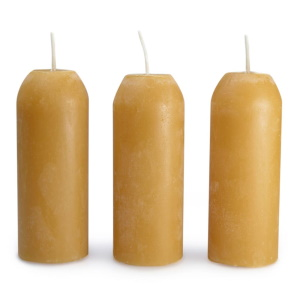 Image of UCO 100 Natural Beeswax Candles - 3 Pack