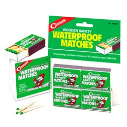Image of 4 Boxes of Waterproof Matches