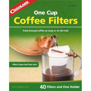 Image of Coghlans One Cup Coffee Filters + Holder