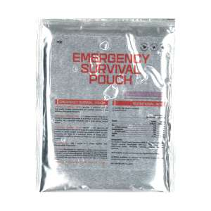 Image of Emergency Survival Pouch - Chocolate Flavour