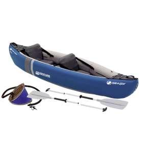Sevylor Adventure Inflatable Canoe Kit