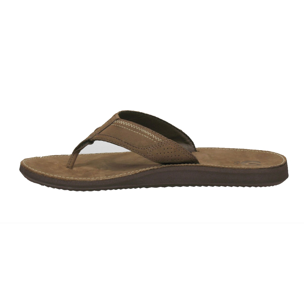 5566174b813a ... Teva Benson Leather Flip Flop Brown Teva Benson Leather Flip Flop Brown  ...
