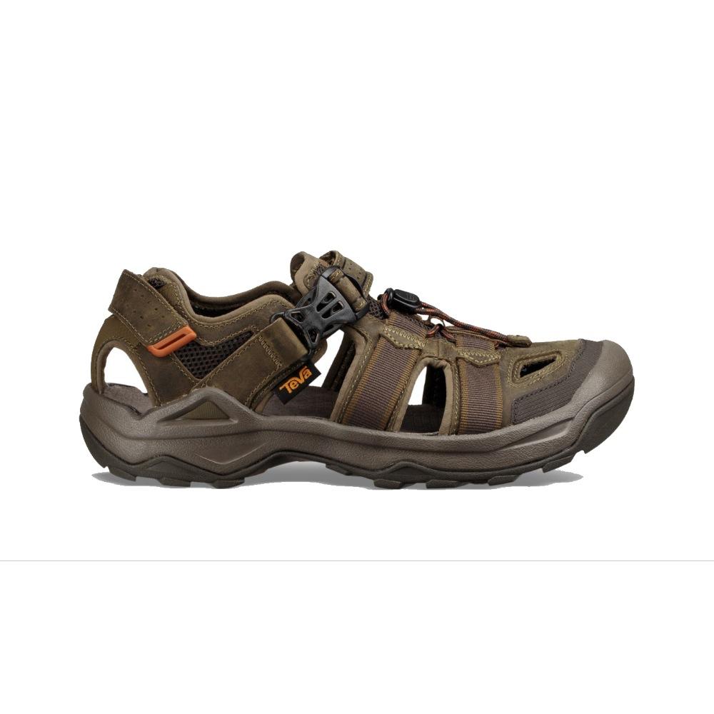 dafe371488fc17 Teva Omnium 2 Leather Sandal Dark Oliv Teva Omnium 2 Leather Sandal Dark  Oliv ...