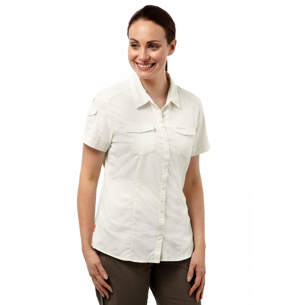 Craghoppers womens nosilife short sleeved adventure shirt for Where to buy womens button up shirts