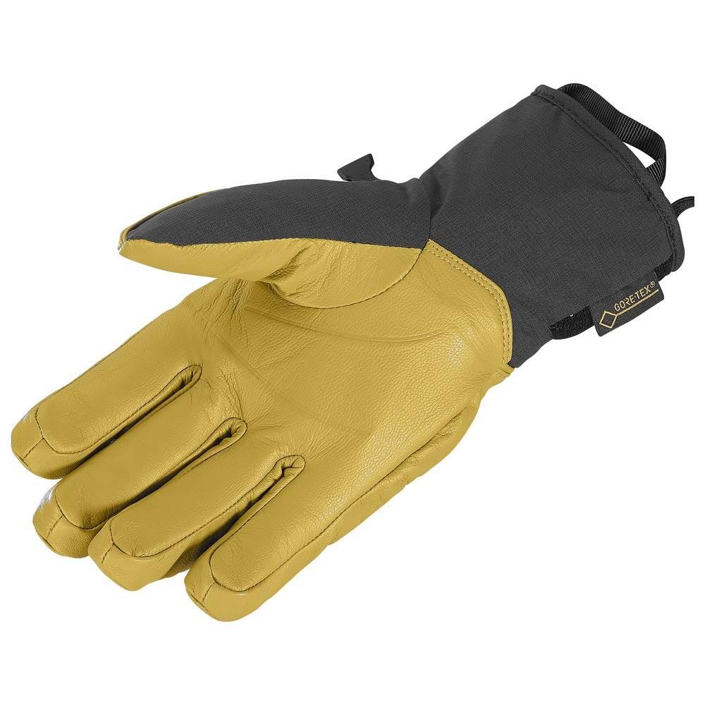 d12c88d27ad ... Salomon QST GTX Gloves Black/Kangaroo Salomon QST GTX Gloves Black/ Kangaroo