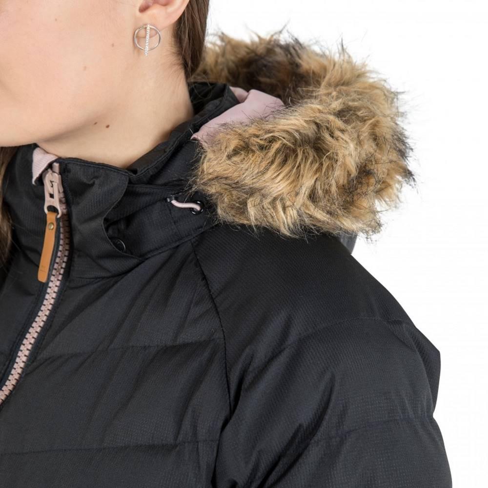 Trespass Womens//Ladies Nadina Waterproof Padded Jacket XXS Black