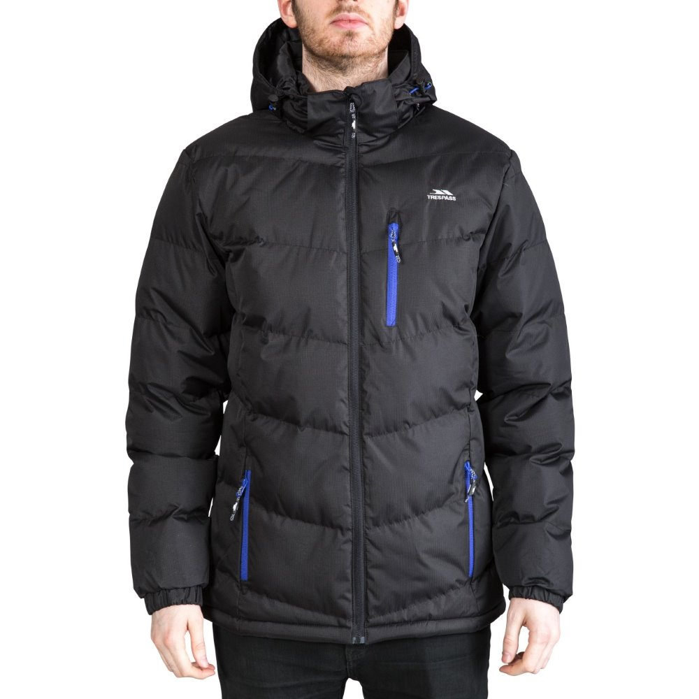 Trespass Blustery Mens Padded Jacket with Hood