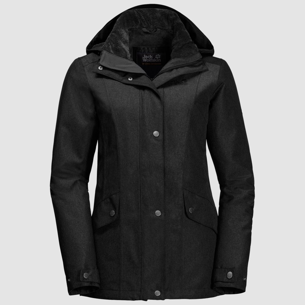 jack wolfskin womens park avenue waterproof jacket. Black Bedroom Furniture Sets. Home Design Ideas