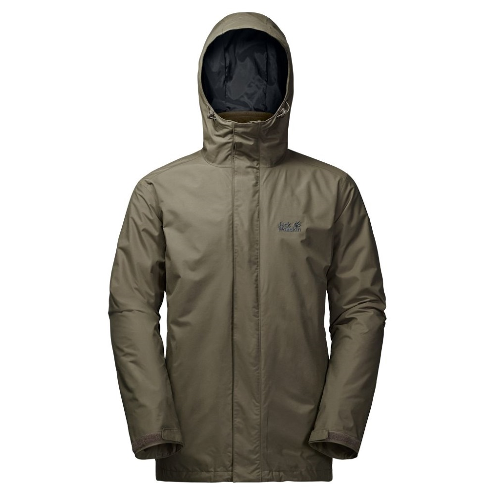 on sale 89713 0ed29 Jack Wolfskin Iceland 3-In-1 Waterproof Jacket