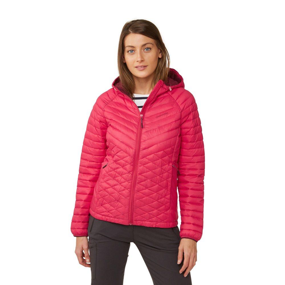 Craghoppers Womens Expolite Jacket Waterproof Packable Lightweight Hooded