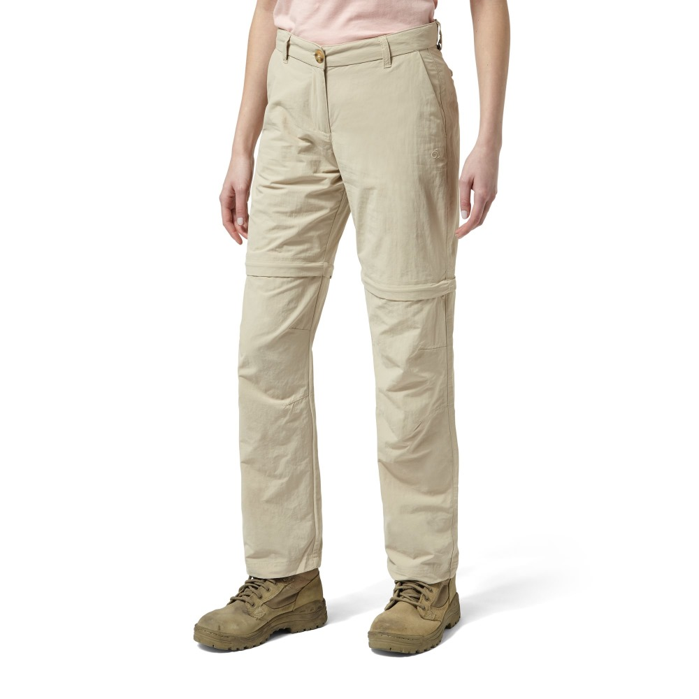Craghoppers Womens//Ladies NosiLife Zip-Off Walking Trousers