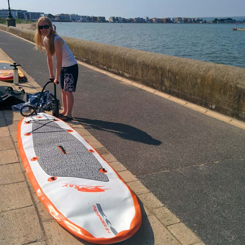 Sevylor Inflatable Paddle Board Vs The Pathfinder S I300