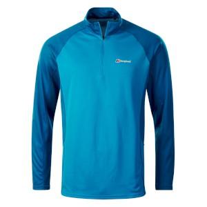 Berghaus Long Sleeve Zip Neck Tech T-Shirt