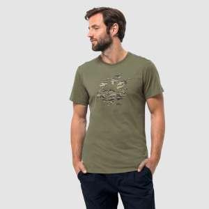 Jack Wolfskin Marble Paw T Shirt