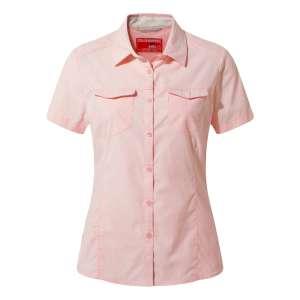 Craghoppers Womens NosiLife Short Sleeved Adventure II Shirt