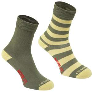 Product image of Craghoppers Womens NosiLife Travel Socks - 2 Pack
