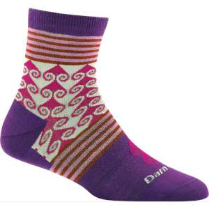 Product image of Darn Tough Womens Swirl Print Shorty Light Socks