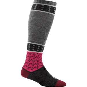 Darn Tough Womens Diamonds Knee High Light Socks