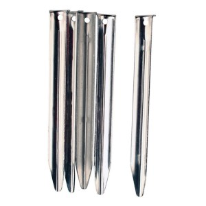 Stockists of 5 x Vango Steel V Pegs - 20cm