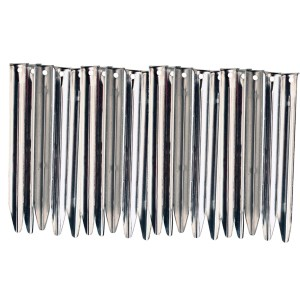 Stockists of 20 Vango Steel V Pegs - 20cm
