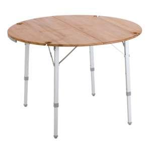 Vango Bamboo Round Table 100cm