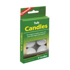 Image of Coghlan s Tub Candles - Pack of 6