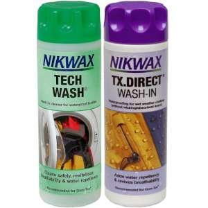 Nikwax Twin Pack Tech Wash and TX Direct - 300 ml
