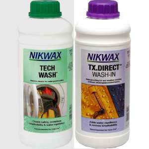 Nikwax Twin Pack Tech Wash and TX Direct - 1 Litre