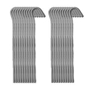 Strider 18cm Steel Pegs - 20 Pack